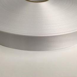 Лента для печати на термопритере сатен (атлас) 25мм  (400 метров)