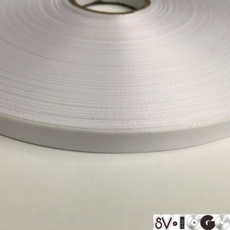 Лента для печати на термопритере сатен (атлас) 10мм  (400 метров)