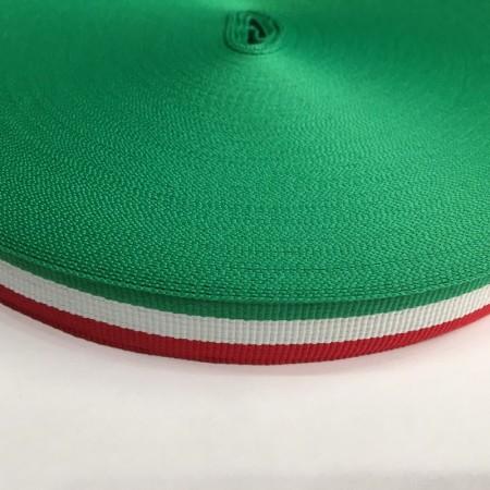 Тесьма репсовая производство 20мм Италия (50 метров)