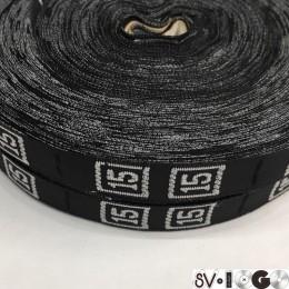 Размерная лента (тканная) 15 (1000 штук)