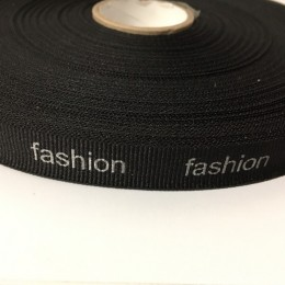 Тесьма репсовая производство 15мм накатка Fashion серебро (50 метров)
