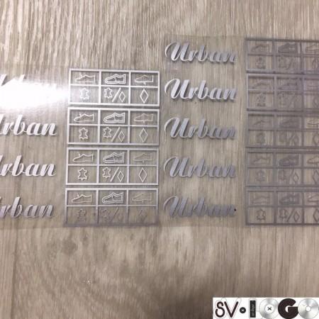 Этикетка термотрансферная Urban 50х25мм заказная (Штука)