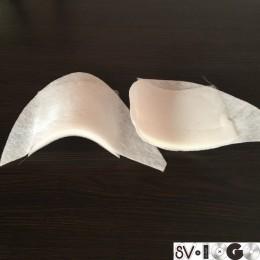 Плечевые накладки, подплечники прямые T15 (15х140х120мм) (пара)