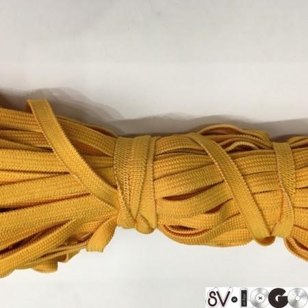 Резинка 6,5 мм желтый (100 метров)