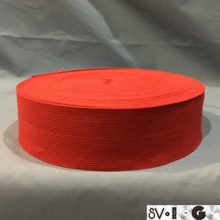 Резинка 50 мм красный (25 метров)