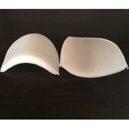 Плечевые накладки, подплечники трикотажные 20мм (16х125х110) белый (пары)