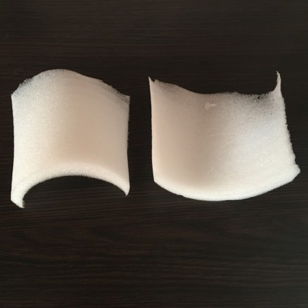 Плечевые накладки, подплечники поролоновые