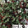 Тесьма репсовая производство 50 мм зеленая 1п красная (50 метров)