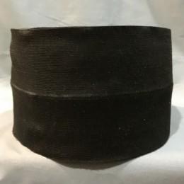 Резинка 130мм для манжетов Черная (метр )