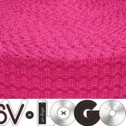 Резинка 50мм волна розовая (25 метров)
