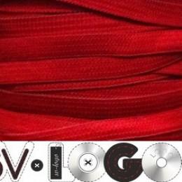 Резинка 6,5мм красный (100 метров)