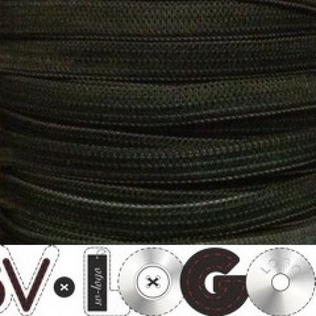 Резинка 6,5 мм хаки (100 метров)