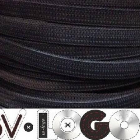 Резинка 6,5 мм серый (100 метров)