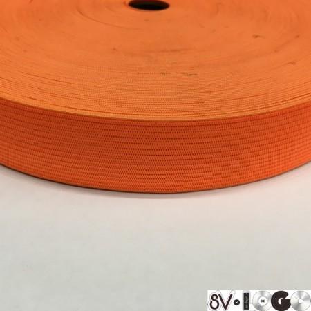 Резинка плоская 27 мм оранжевый (40 метров)