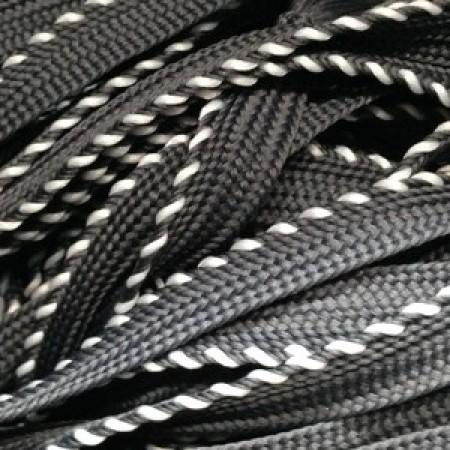 Шнур кант 25 10 мм серый (50 метров)