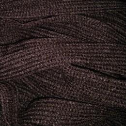 Шнур плоский АК 15мм коричневый (50 метров)