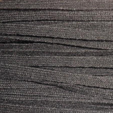 Шнур плоский АК 6 мм черный (50 метров)