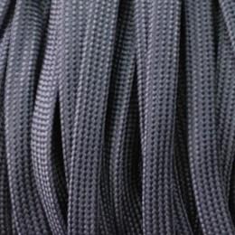 Шнур плоский чехол ПЭ40 10мм синий (100 метров)