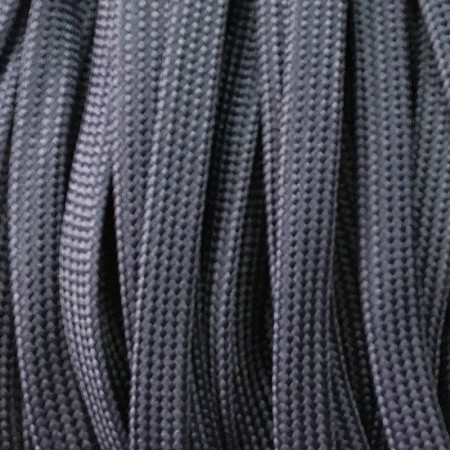 Шнур плоский чехол ПЭ40 10 мм синий (100 метров)