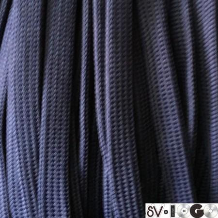 Шнур плоский чехол ПЭ40 20 мм синий (50 метров)