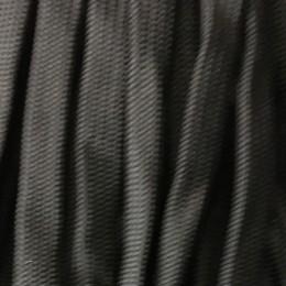 Шнур плоский чехол ПЭ40 20мм черный (50 метров)