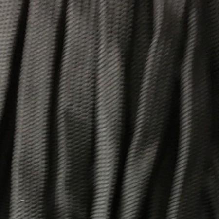 Шнур плоский чехол ПЭ40 20 мм черный (50 метров)