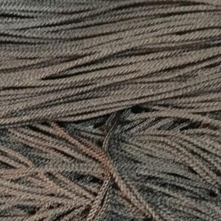 Шнур круглый 2 мм коричневый (100 метров)