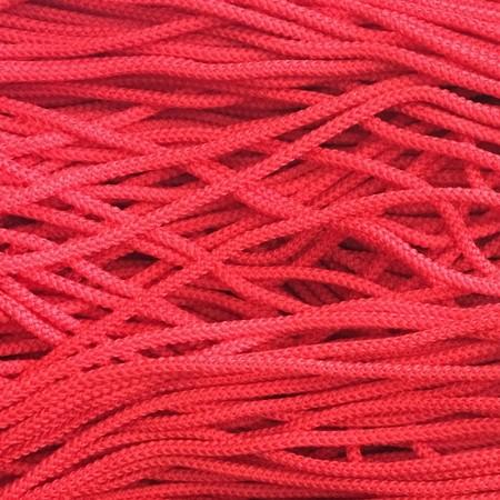 Шнур круглый 4 мм красный (200 метров)