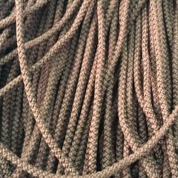 Шнур круглый 4мм бежевый темный (200 метров)