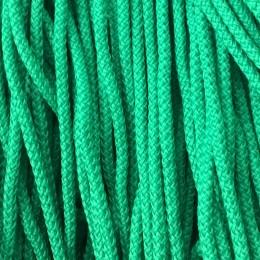 Шнур круглый 4мм зеленый (200 метров)