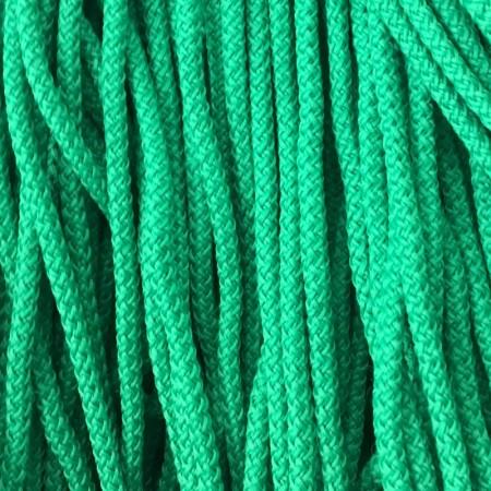 Шнур круглый 4 мм зеленый (200 метров)