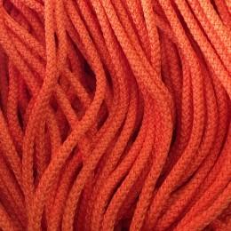 Шнур круглый 4мм оранжевый (200 метров)