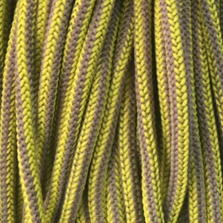 Шнур круглый 4 мм наполнитель желто бежевый (200 метров)