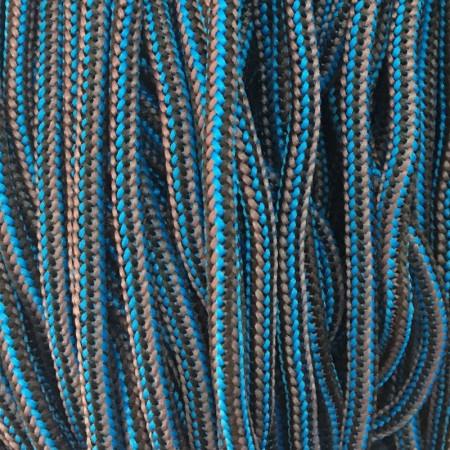 Шнур круглый 4 мм наполнитель серо синий (200 метров)