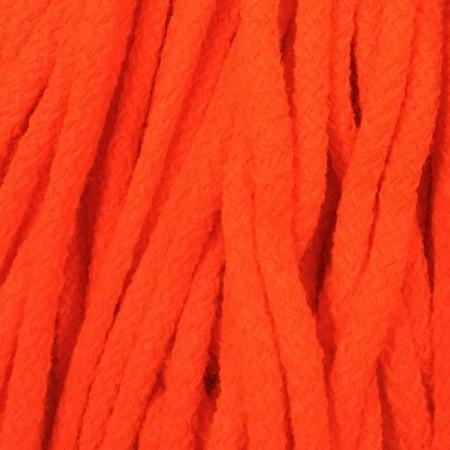 Шнур круглый 6 мм акриловый оранжевый (100 метров)