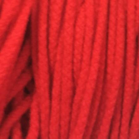 Шнур круглый 6 мм акриловый красный (100 метров)