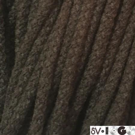 Шнур круглый 6 мм акриловый коричневый (100 метров)