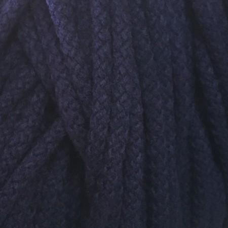 Шнур круглый 8 мм акриловый синий (100 метров)
