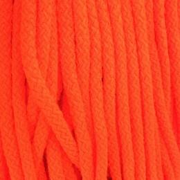 Шнур круглый 8мм акриловый оранжевый (100 метров)