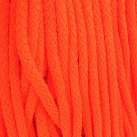 Шнур круглый 8 мм акриловый оранжевый (100 метров)