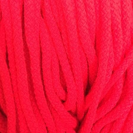 Шнур круглый 8 мм акриловый красный (100 метров)