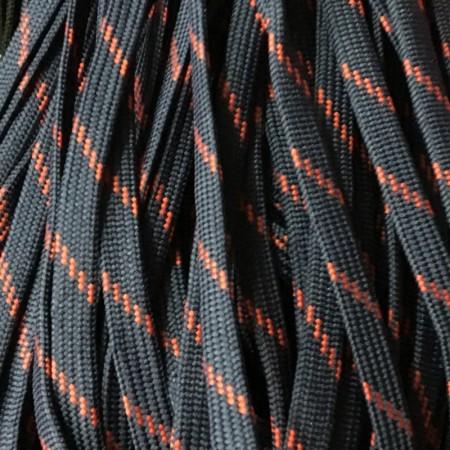 Шнур плоский чехол ПЭ40 10 мм сине красный (100 метров)
