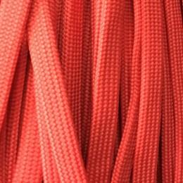 Шнур плоский чехол ПЭ40 10мм красный (100 метров)