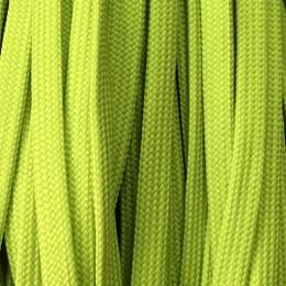 Шнур плоский чехол ПЭ40 10мм салатовый (100 метров)