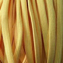Шнур плоский чехол ПЭ40 10мм желтый (100 метров)