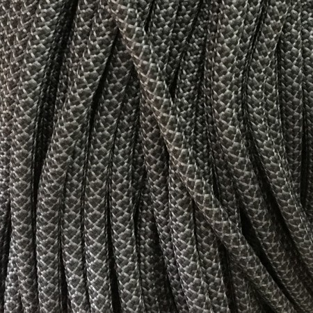 Шнур круглый 6 мм 32 серо черный (100 метров)