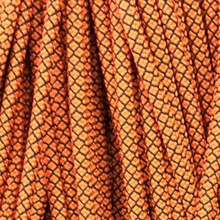 Шнур круглый 6 мм 32 оранжево черный (100 метров)