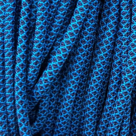 Шнур круглый 6 мм 32 сине бирюзовый (100 метров)