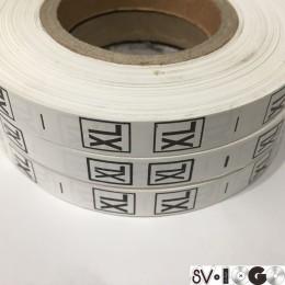Размерная лента (накатка) XL (1000 штук)