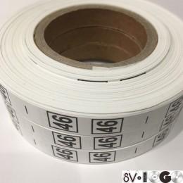 Размерная лента (накатка) 46 (1000 штук)